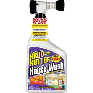 Krud Kutter HW32H/4 32 Oz Hose-End Multi-Purpose House Wash