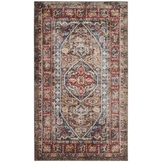 Safavieh Bijar Oriental Vintage Brown / Royal Rug (3' x 5')