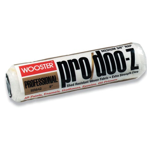 """Wooster RR642-9 3/8"""" Nap Pro/Doo-Z Roller Covers"""