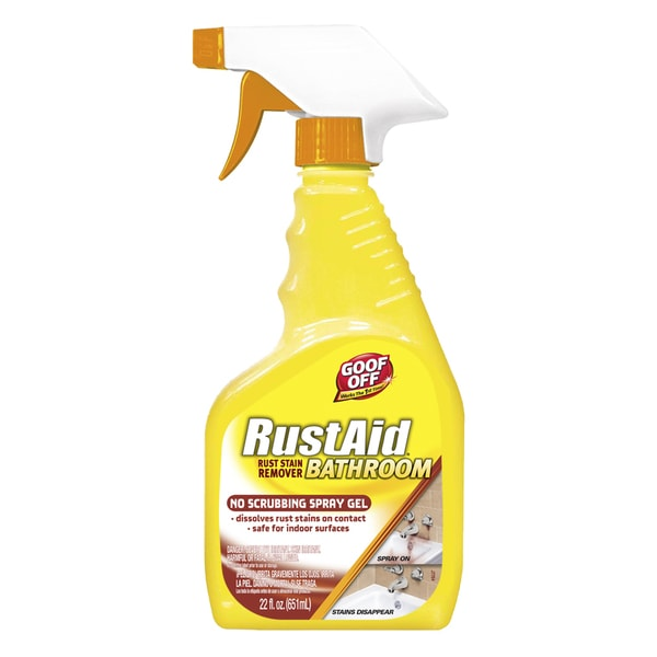 Goof Off ESX20005 22 Oz  Rustaid Bathroom Rust Stain Remover
