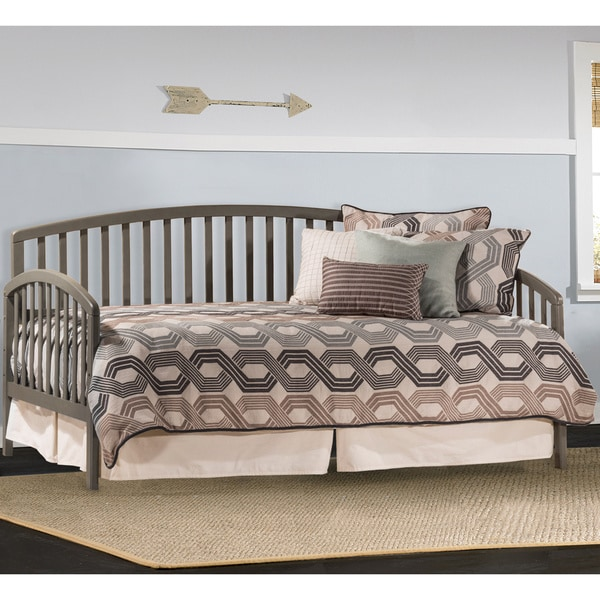 Gray Full Size Daybed : Hillsdale carolina stone grey twin size daybed with