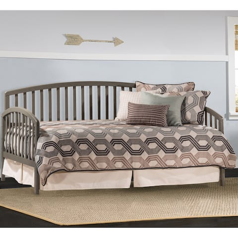 Hillsdale Carolina Stone Grey Twin-size Daybed with Suspension Deck