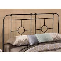 The Gray Barn Charley Metal Headboard with Frame