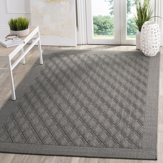 Safavieh Palm Beach Natural Fiber Ash Sisal / Jute Rug - 2' x 3'
