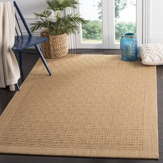 Safavieh Palm Beach Natural Fiber Maize Sisal / Jute Rug (2' x 3')