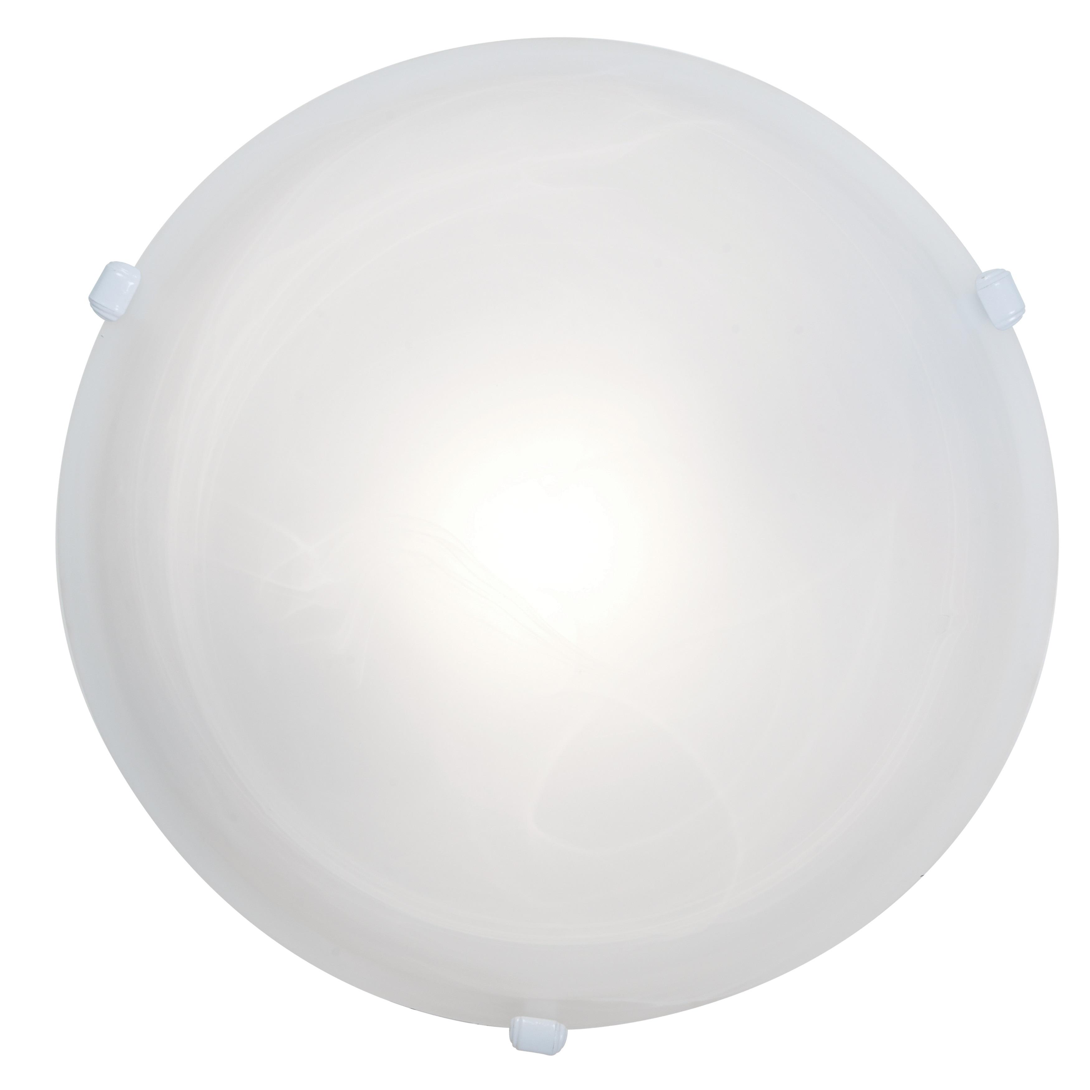 Access Lighting Nimbus 1-light White 16-inch Flush Mount,...