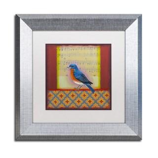Rachel Paxton 'Bluebird' Matted Framed Art