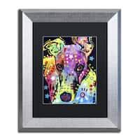 Dean Russo 'Whippet' Matted Framed Art