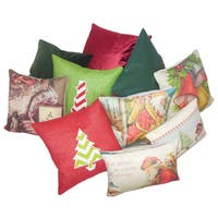 Holiday Throw Pillow Assortment