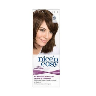 Clairol Nice 'N Easy Non Permanent #75 Light Ash Hair Color