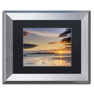 Michael Blanchette Photography 'Patterns in Sand' Matted Framed Art