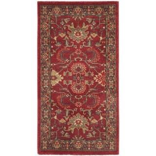 Safavieh Mahal Red / Navy Rug (2' 2 x 4')