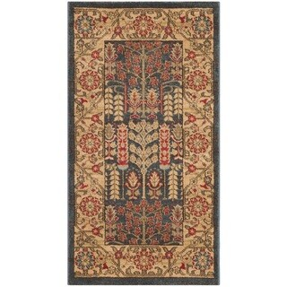 Safavieh Mahal Navy / Natural Rug (2' 2 x 4')