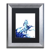Marc Allante 'Poseidon' Matted Framed Art