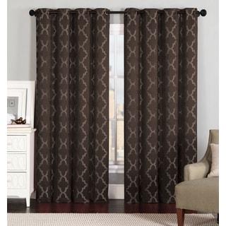 Artistic Linen Sienna 84-inch Grommet-top Window Curtain Panel