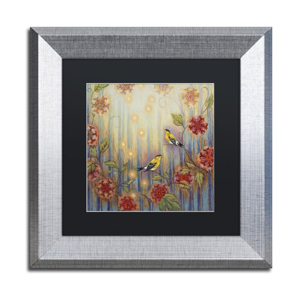 Rachel Paxton 'Ocean Arbor' Matted Framed Art
