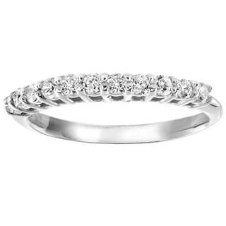 Regalia 14k Gold 3/8ct TDW Eternity Diamond Ring