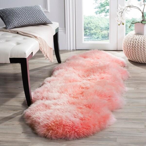 Shop Safavieh Prairie Natural Pelt Sheepskin Wool Solid