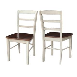 International Concepts Madrid Ladderback Chair (Set of 2)
