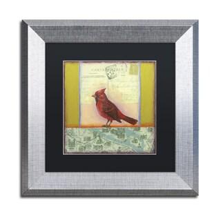 Rachel Paxton 'Small Bird 217' Matted Framed Art