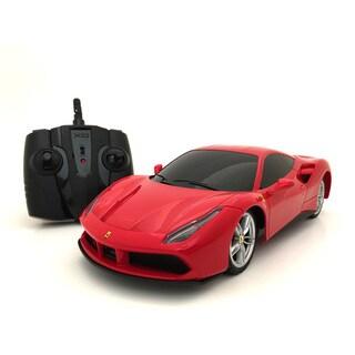 Ferrari 488 GTB 2.4 GHz Remote Control 1:18-scale Multi-channel RC SuperCar