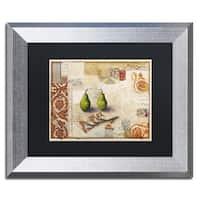 Rachel Paxton 'Marsh Cove Pears' Matted Framed Art
