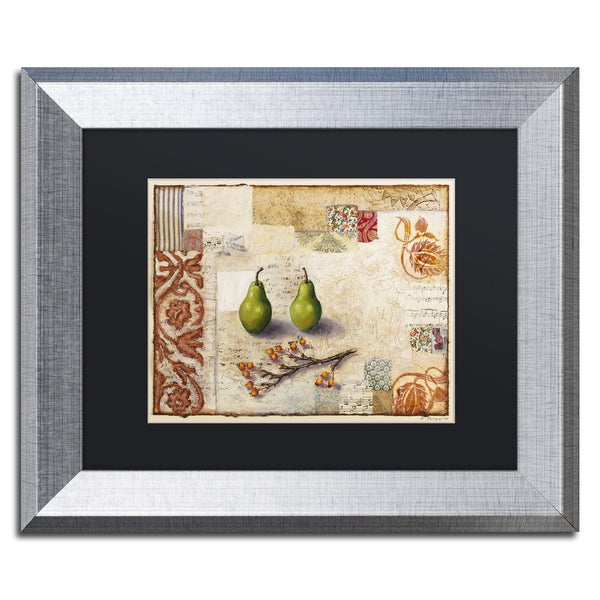 Rachel Paxton 'Marsh Cove Pears' Matted Framed Art