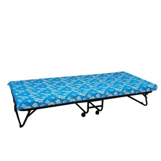 Multicolor Nylon and Polyester, Fabric Folding Comfort Bed