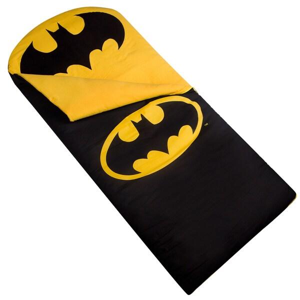 Batman Yellow Licensed Sleeping Bag