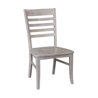 Cosmo Washed-finish Chair (Set of 2)