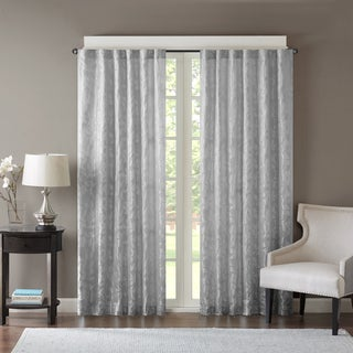 Madison Park Pearl Jacquard Window Curtain Panel