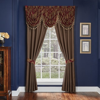 Croscill Sebastian Pole Top Window Drapery Panel Pair