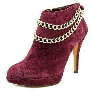 Vince Camuto Women's 'Elana' Purple Kid Suede High-heel Pump Dress Shoes