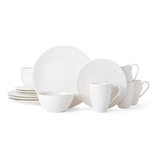 Mikasa Vella White 16-piece Place Setting  sc 1 st  Overstock & Mikasa Dinnerware For Less | Overstock