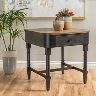 Mirelle Antique Wood Accent Table by Christopher Knight Home