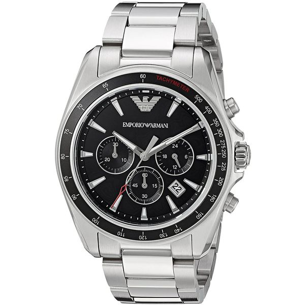 Emporio Armani Men's 'Sport' Chronograph Stainless Steel Watch
