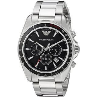 Emporio Armani Men's AR6098 'Sport' Chronograph Stainless Steel Watch