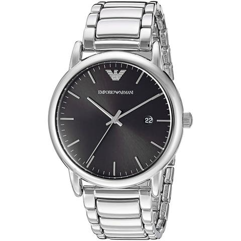 Emporio Armani Men's AR2499 'Dress' Stainless Steel Watch