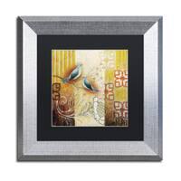 Rachel Paxton 'Arborway Birds' Matted Framed Art