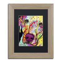 Dean Russo 'Close Up Lab' Matted Framed Art