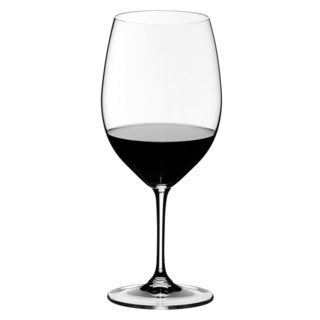 Riedel 260 Years Celebration Vinum Clear Cabernet and Merlot Glasses (Pack of 6)