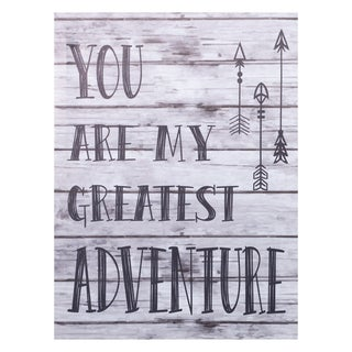 Trend Lab 'My Greatest Adventure' Canvas Wall Art