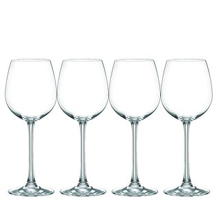 Nachtmann Vivendi Clear Glass 16-ounce White Wine Glasses (Pack of 4)