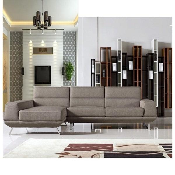 Bullock Light Brown Sectional Sofa