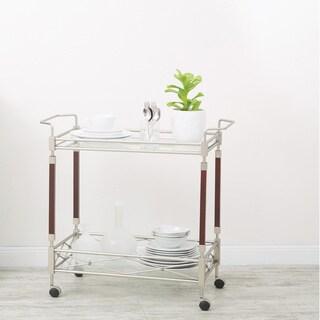 Silver Orchid Rita Serving Cart
