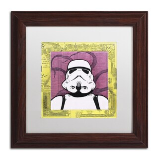 Dean Russo 'Stormtrooper' Matted Framed Art