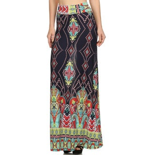 Women's Paisley Maxi Skirt