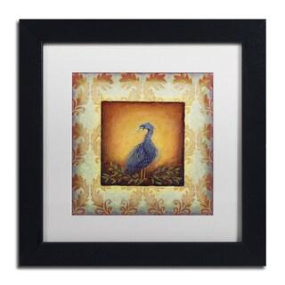 Rachel Paxton 'Woodside Heron' Matted Framed Art
