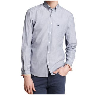 Burberry Men's Fred Chambray Shirt (Size S)|https://ak1.ostkcdn.com/images/products/12971521/P19719996.jpg?impolicy=medium