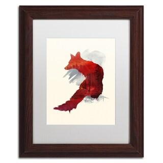 Robert Farkas 'Bad Memories' Matted Framed Art